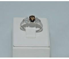Серебрянное женское кольцо артикул: 60871