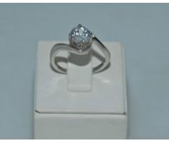 Серебрянное женское кольцо артикул: 60971