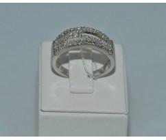 Серебрянное женское кольцо артикул: 61261
