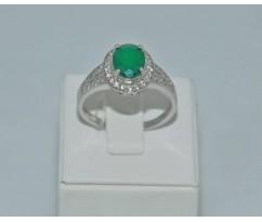 Серебрянное женское кольцо артикул: 61341