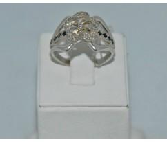 Серебрянное женское кольцо артикул: 61451