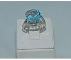 Серебрянное женское кольцо артикул: 62001