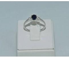 Серебрянное женское кольцо артикул: 62021