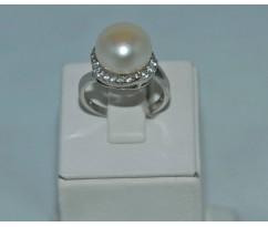 Серебрянное женское кольцо артикул: 62041