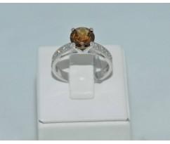 Серебрянное женское кольцо артикул: 62181