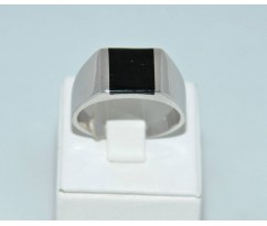 Серебрянное мужское кольцо артикул: 62331