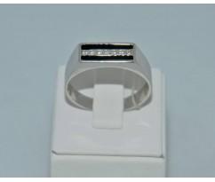 Серебрянное мужское кольцо артикул: 62341