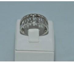 Серебрянное мужское кольцо артикул: 62351