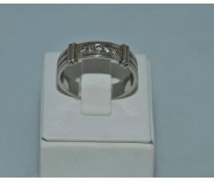 Серебрянное мужское кольцо артикул: 62361