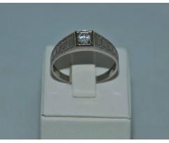 Серебрянное мужское кольцо артикул: 62371
