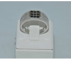 Серебрянное мужское кольцо артикул: 62381