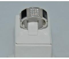Серебрянное мужское кольцо артикул: 62451