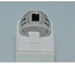 Серебрянное мужское кольцо артикул: 62461