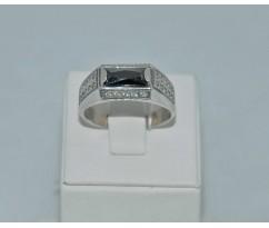 Серебрянное мужское кольцо артикул: 62481