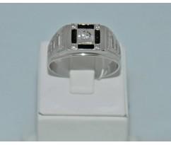 Серебрянное мужское кольцо артикул: 62491