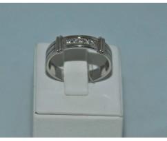 Серебрянное мужское кольцо артикул: 62501