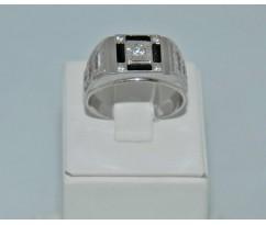 Серебрянное мужское кольцо артикул: 62511