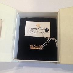 фирменная упаковка elitegold с кольцом